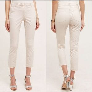 Anthropologie Pilcro & the Letterpress Crop Pants
